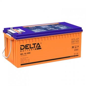 Аккумулятор DELTA 12-200 GEL