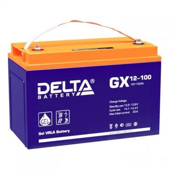 Аккумулятор DELTA GX 12-100 GEL