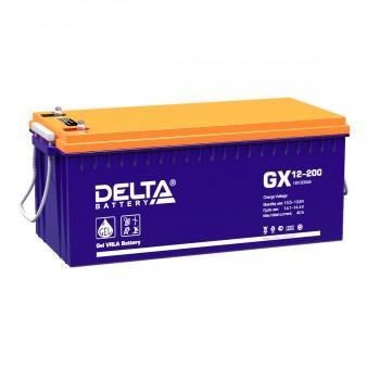 Аккумулятор DELTA GX 12-200 GEL