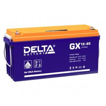 Аккумулятор DELTA GX 12-65 GEL