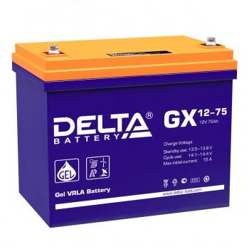 Аккумулятор DELTA GX 12-75 GEL