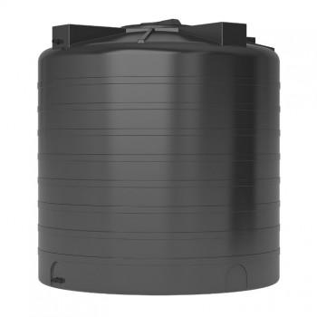 Пластиковый бак для воды ATV-2000 черный
