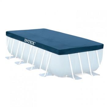 Тент для прямоугольных каркасных бассейнов 389 х 184 см Intex 28037