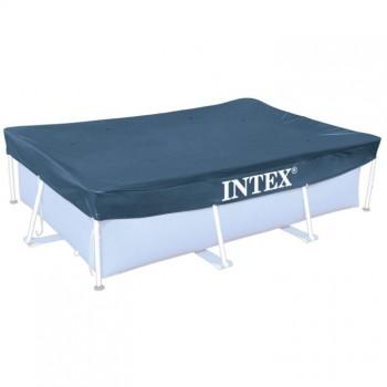 Тент для прямоугольных каркасных бассейнов 300 х 200 см Intex 28038
