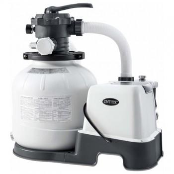 Хлоратор с песочным фильтр-насосом Intex 26680