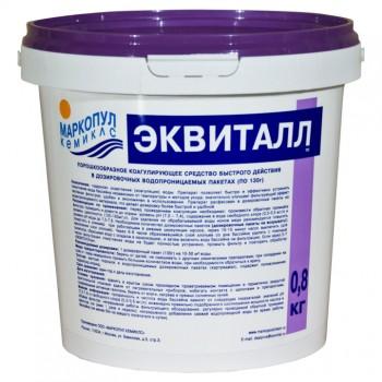 Эквиталл порошок коагулянт (осветлитель) ударного действия, 0,8 кг
