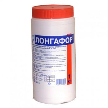 Лонгафор-20г/1кг медленнорастворимый для хлорной дезинфекции воды