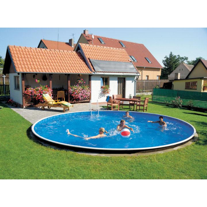 Сборный каркасный бассейн Azuro 406DL 6,4х1,2