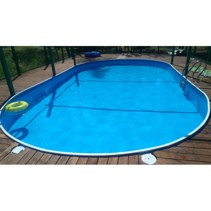 Сборный морозоустойчивый бассейн Лагуна 10х5,5х1,25 м