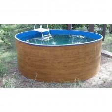 Сборный морозоустойчивый бассейн ODYSSEY 3,66х1,25 м wood