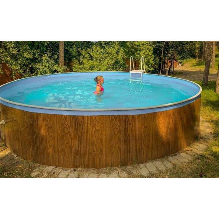 Сборный морозоустойчивый бассейн ODYSSEY 4,57х1,25 м wood