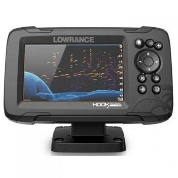 Эхолот-картплоттер Lowrance HOOK REVEAL 5 SPLITSHOT 50/200 HDI ROW