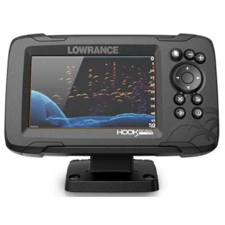 Эхолот-картплоттер Lowrance HOOK REVEAL 5 SPLITSHOT 83/200 HDI ROW