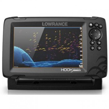 Эхолот-картплоттер Lowrance HOOK REVEAL 7 SPLITSHOT 50/200 HDI ROW