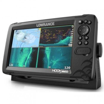 Эхолот-картплоттер Lowrance HOOK REVEAL 9 TRIPLESHOT ROW