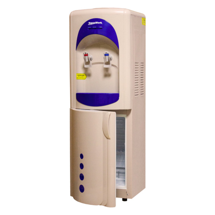 Кулер для воды Aqua Work V28-L-B/B бежево-синий